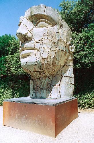 Sculpture by Igor Mitoraj, Boboli garden, Florence